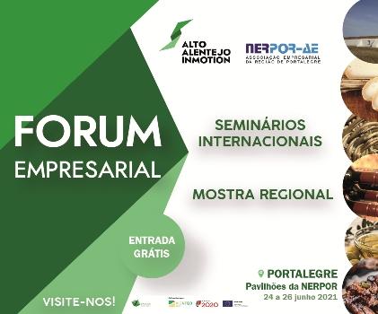 Forum Empresarial ate 26 de jun